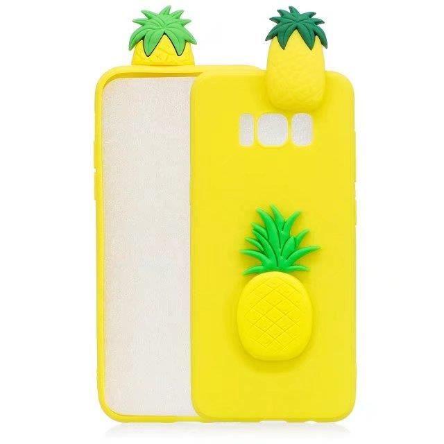 coque iphone 6 ananas jaune a la mode dessin anime
