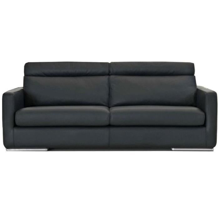 Canap bentley 3 places convertible ouverture express couchage 142 180 cm cui - Canape convertible ouverture facile ...