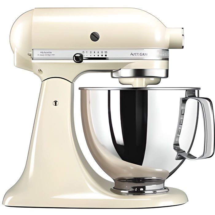 Photo de kitchenaid-artisan-5ksm125eac-creme