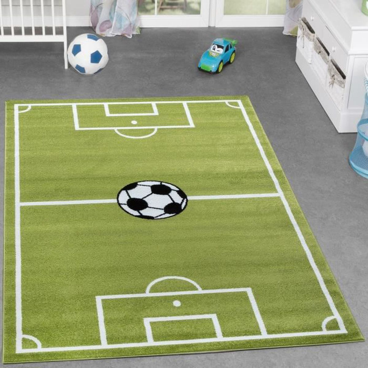 decoration de foot pour chambre nom personnalis de football football sticker autocollant. Black Bedroom Furniture Sets. Home Design Ideas