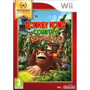 JEUX WII Donkey Kong Country Returns Selects Jeu Wii