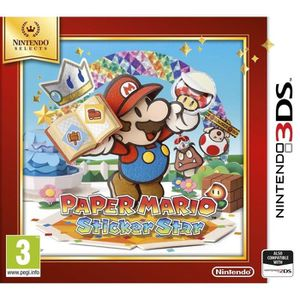 JEU 3DS Paper Mario Sticker Star Select Jeu 3DS