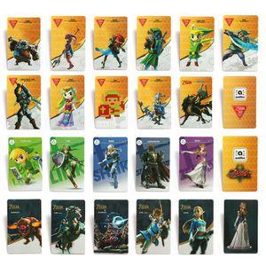 PACK ACCESSOIRE 22PCS Jeux de Cartes Zelda NFC Mignon Jeu Collecti