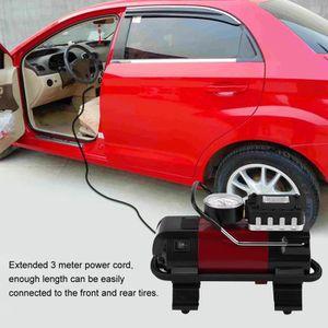 COMPRESSEUR 12V 100PSI DC12V Pompe gonflage compresseur d'air pneu