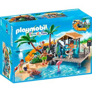 UNIVERS MINIATURE PLAYMOBIL 6979 - Family Fun - Ile avec Vacanciers