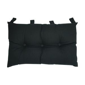 COUSSIN Tête de lit coussin 100% coton uni - 50x70 cm - No
