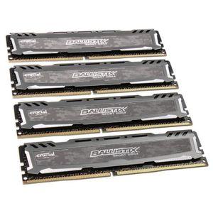 MÉMOIRE RAM Crucial Ballistix Sport LT series grau, DDR4-3000,
