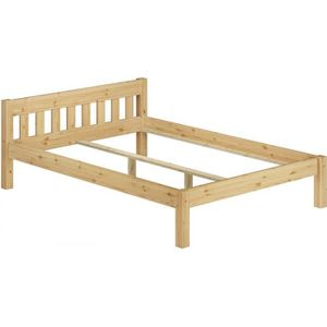 STRUCTURE DE LIT 60.38-18oR lit adulte de charme scandinave en pin