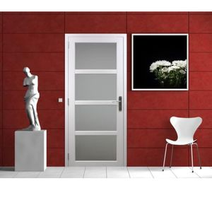 bloc porte 63 cm achat vente pas cher. Black Bedroom Furniture Sets. Home Design Ideas