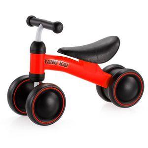 DRAISIENNE rouge Enfants trois roues Balance vélo enfants Sco