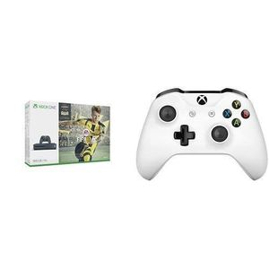 CONSOLE XBOX ONE Pack Console Xbox One S 500 Go gris + Fifa 17 +2e