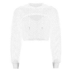 T-SHIRT Femme Sexy T-shirt à Capuche Manches Longues Tee s