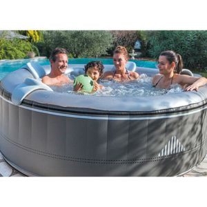 SPA COMPLET - KIT SPA Spa gonflable rond Malibu - Netspa - 4 personnes -