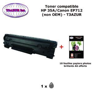 TONER Toner générique Canon EP712 pour imprimante Canon