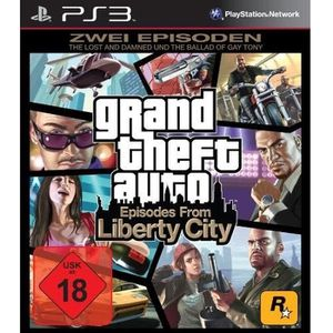 JEU PS3 PS 3 GTA: EPISODES FROM LIBERTY CITY [JEU PS3]