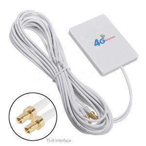 MODEM - ROUTEUR YIER 4G Antenne 28dBi 3G LTE TS9 Signal Amplificat
