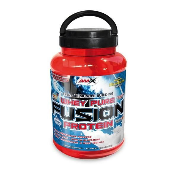 PURE WHEY FUSION 1 KG . CHOCOLAT BLANC DOUBLE