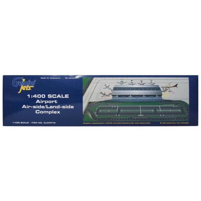 Kit Modelisme A Construire gemini jets 1-400 gjarptb terminal set44 côté aéroport - côté terre 1-400 HC0KN