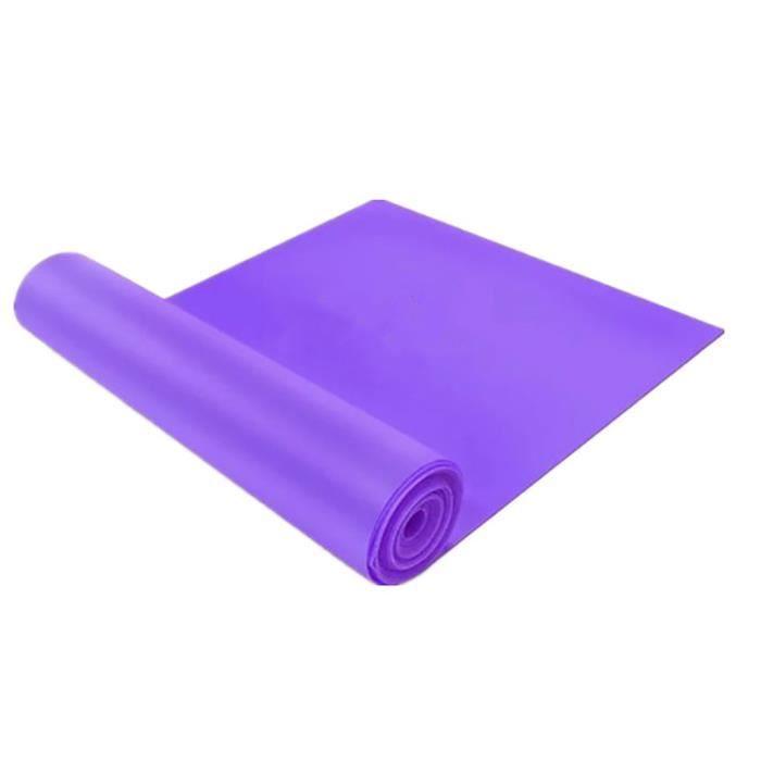 Élastique Yoga Pilates Stretch Resistance 1.5m Long Exercise Fitness Band Belt g610