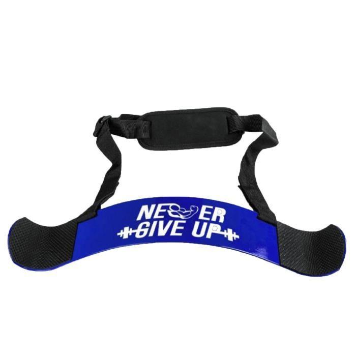 Barre résistante de triceps de Bicep Curl de bombardier de corps de blaster d'isolateur de bras hrb3092