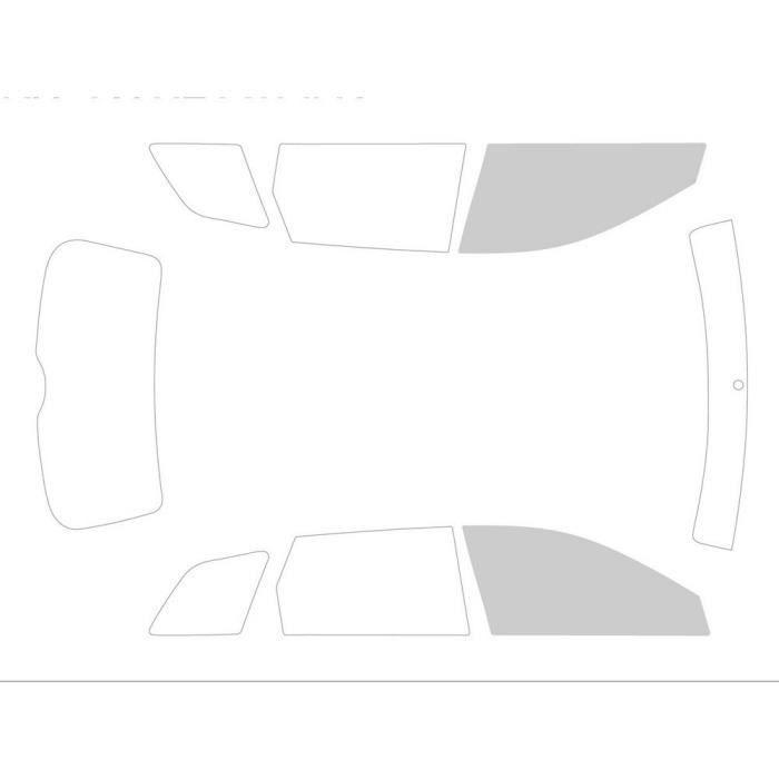 Variance Auto va_k-3-7-65-3549-3-54 Film Teinté pour Auto Kit Vitres, Noir 70