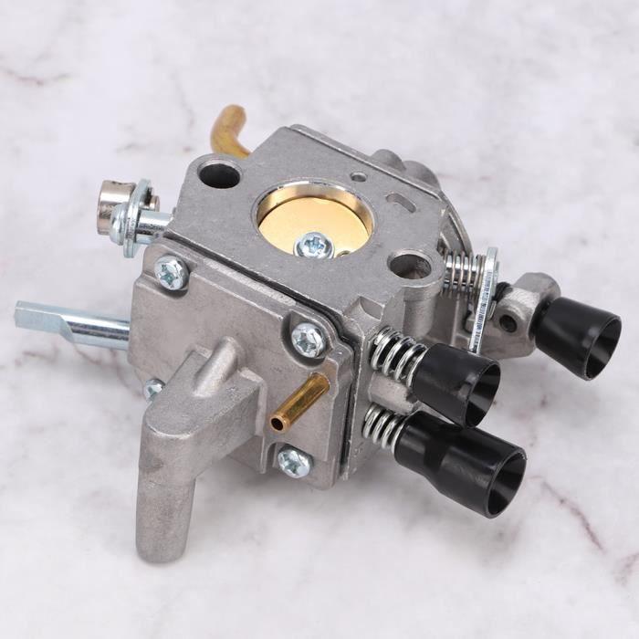 Kit de carburateur de carburateur d'installation facile, ajustement du carburateur, moteur fonctionne bien, mélange de carburant