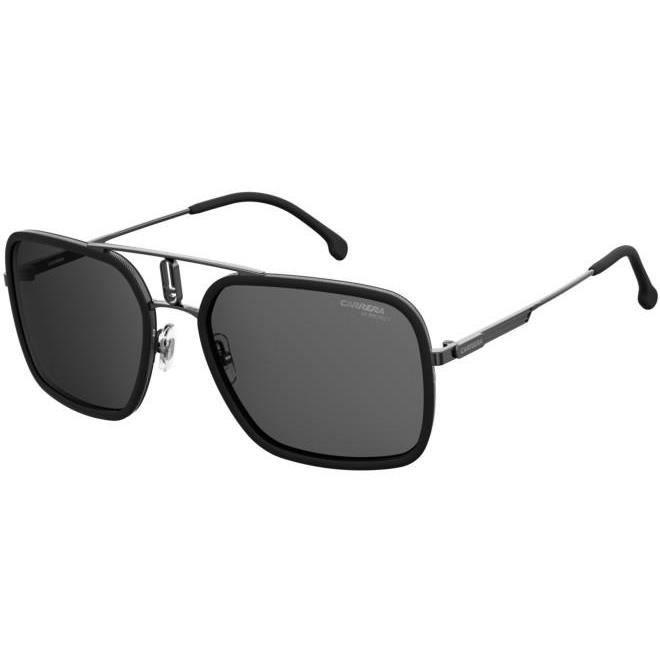 Carrera CARRERA 1027/S 59/20/145 BLACK RUTHENIUM/GREY acier homme CARRERA 1027/S
