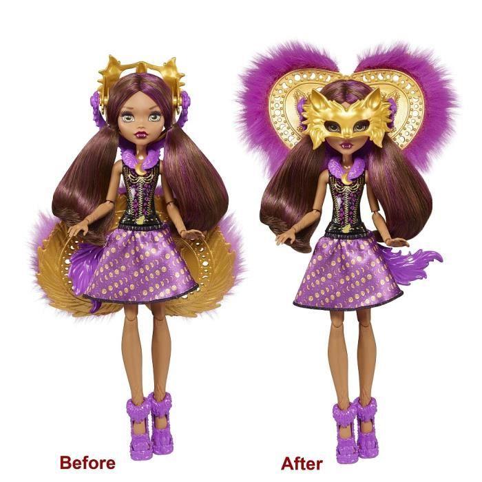 Poupée Monster High Transformation Clawdeen