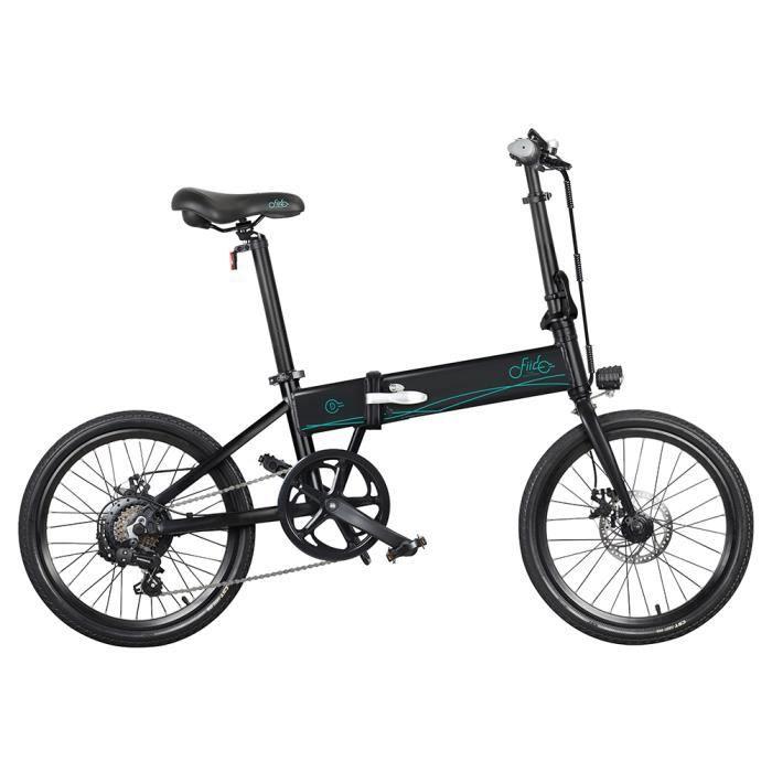 Vélo électrique 20 ' pliable-FIIDO D4s 10.4Ah 36V 250W 30km/h-Noir