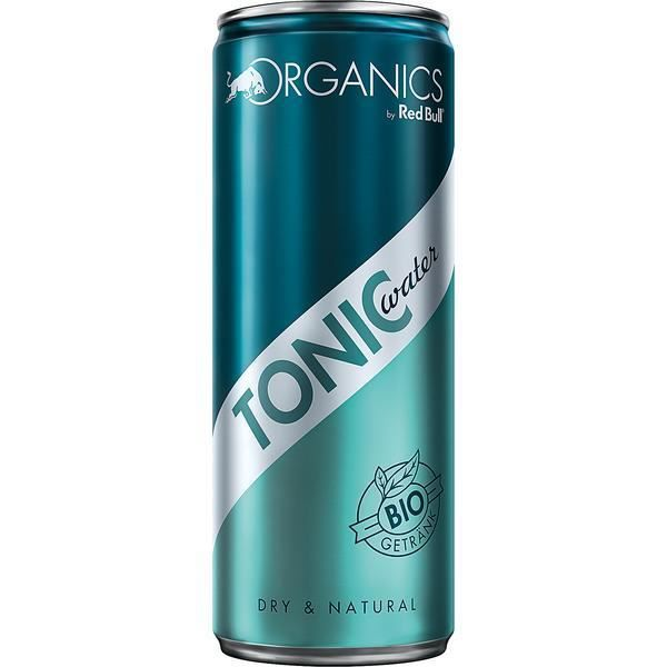 Red Bull Organics Tonic Water boisson non-alcoolisée 12 x 0,25l