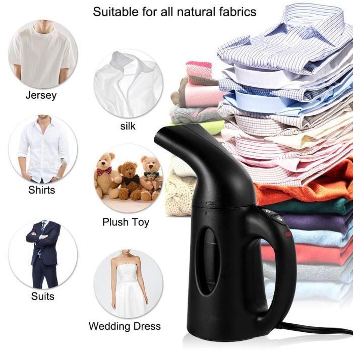 120ml 800W Vapeur Défroisseur de vêtement tenu dans la main pour voyage de ménage multi-usage puissant enlèvent les rides de tissus