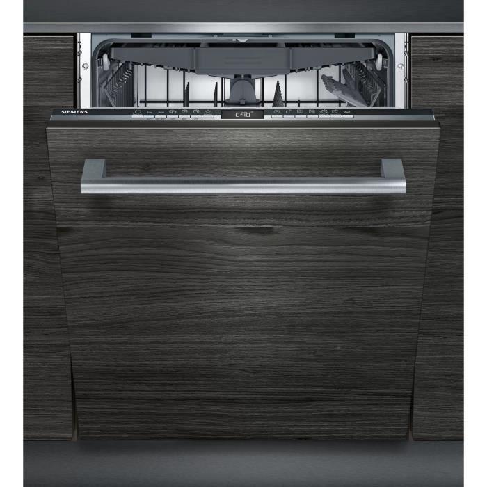 Lave-vaisselle tout intégrable SIEMENS - SN63HX42VE - 60cm - 13 couverts - 44 dB