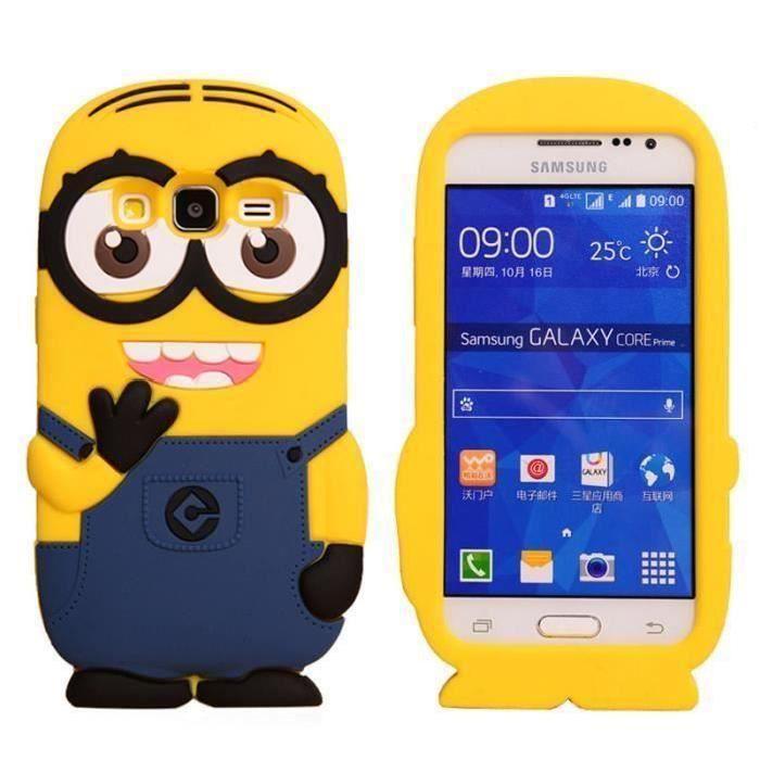 RongLe® COQUE ETUI HOUSSE MINIONS MIGNON Samsung Galaxy Core Prime ...