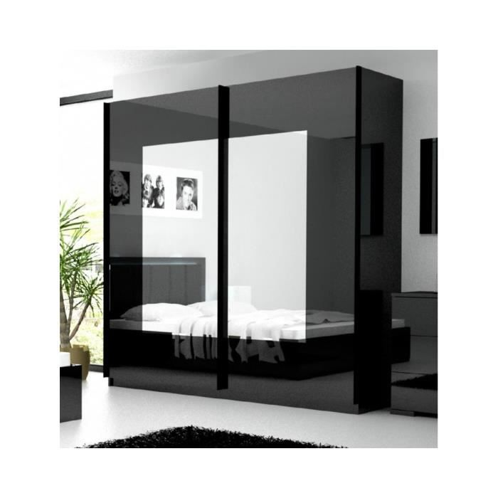 armoire coulissante 2 m tre belco 90a achat vente armoire de chambre armoire coulissante 2. Black Bedroom Furniture Sets. Home Design Ideas