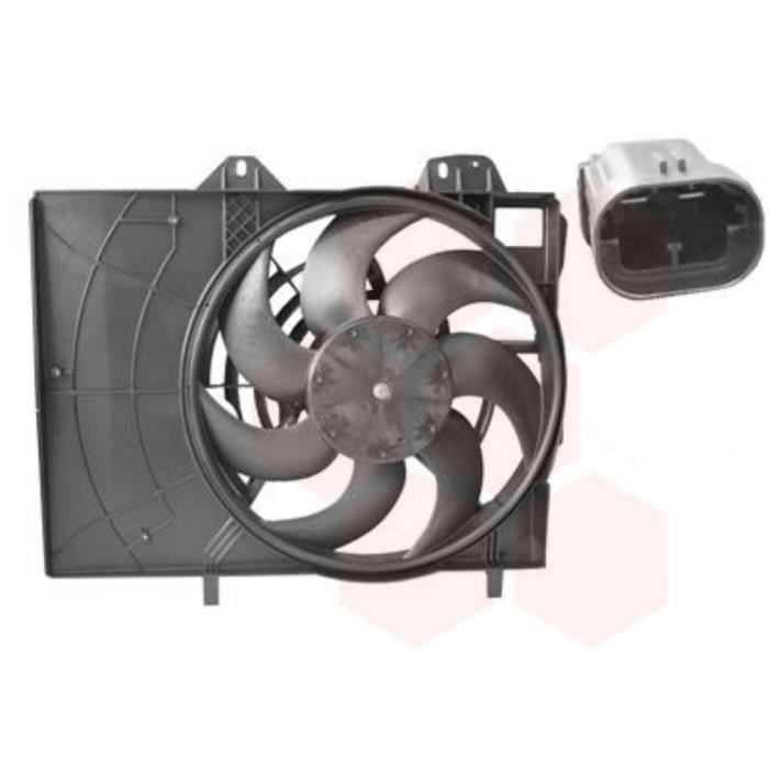 ventilateur refroidissement moteur citroen c3 annee 2006 2009 achat vente ventilateur moteur. Black Bedroom Furniture Sets. Home Design Ideas