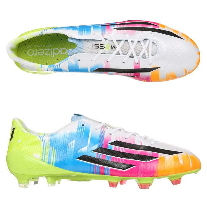 release date 94c7a 604d8 ADIDAS Chaussures Foot F50 Adizero Messi FG Homme