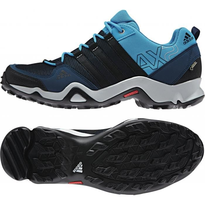 Adidas AX2 - Chaussures de randonnée Homme - bleu - Cdiscount Sport
