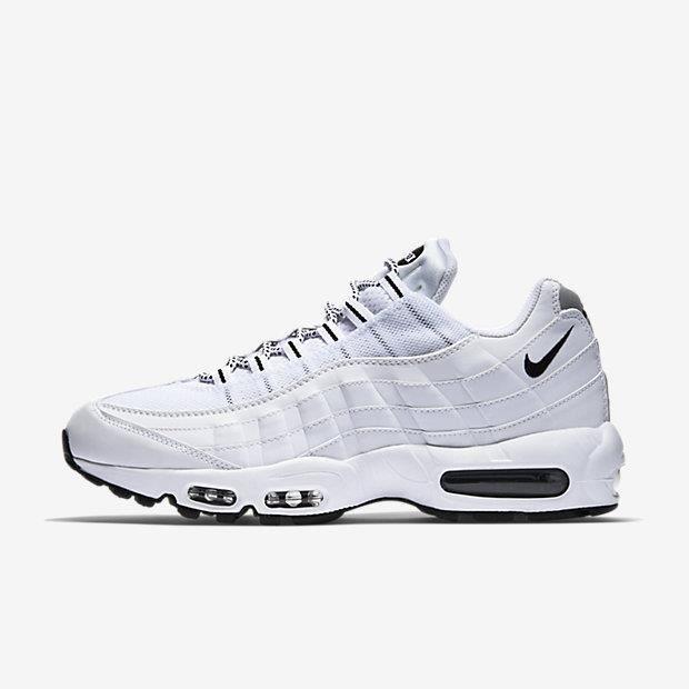 chaussure air max 95 femme blanc