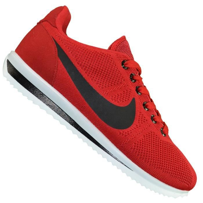 low priced 4d9bf 14d2d Nike - Basket - Homme - Cortez Ultra Moire Canvas - Rouge