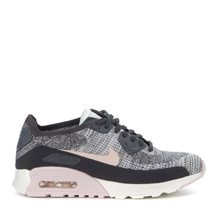 plus récent 5c88e 61bb2 Nike Women's Air Max 90 Ultra 2.0 Flyknit Running Trainers 3LMN4X Taille-41  1-2