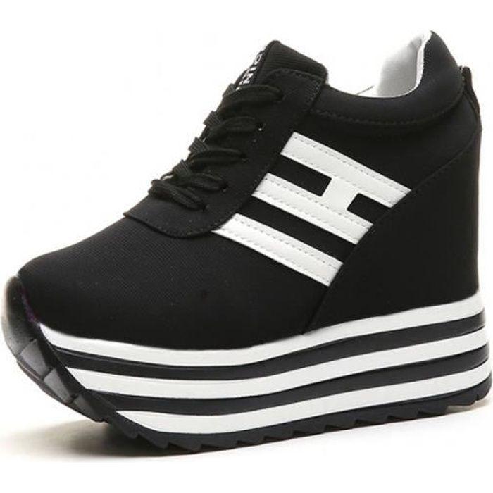 Fitness Sneaker réseau Sport Femmes Chaussures Plateforme santé Randonnée Chaussures Taille