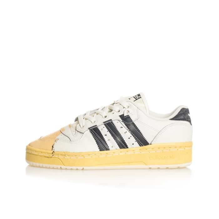 Adidas Sneakers Uomo Adidas Rivalry Homme Blanc - Cdiscount Chaussures