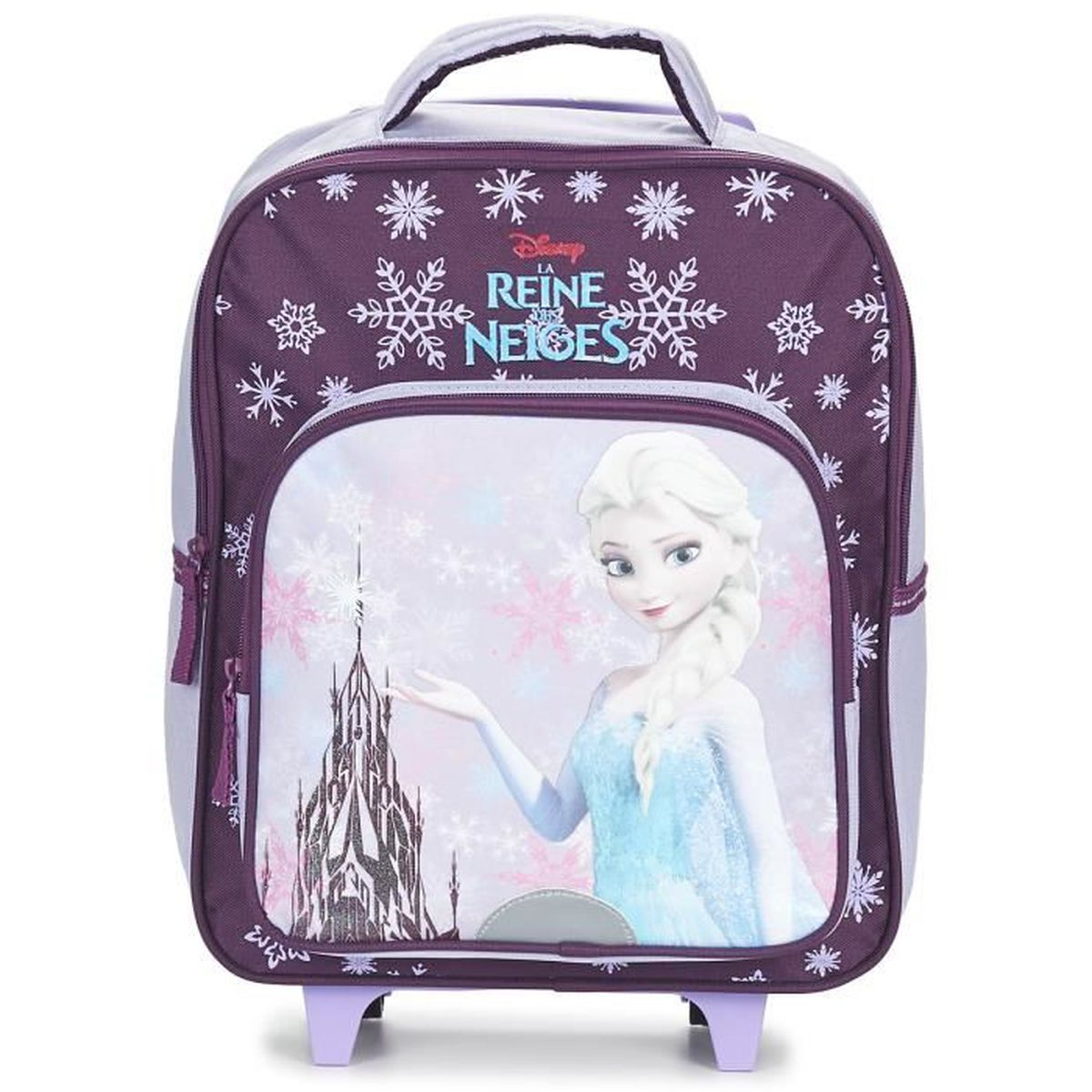 frozen sac dos roulettes trolley cartable enfant cole fille scolaire disney reine des. Black Bedroom Furniture Sets. Home Design Ideas