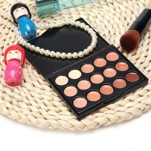 FOND DE TEINT - BASE 15 Colors Contour Facial Maquillage Cercle Cercle
