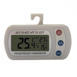 Thermom/ètre num/érique portatif professionnel d/écran LCD /électronique pour la temp/érature de r/éfrig/érateur//cong/élateur//aquarium//FISH TANK
