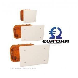 Electraline 60411 Bo/îte de d/érivation encastrer ma/çonnerie 118x96 mm