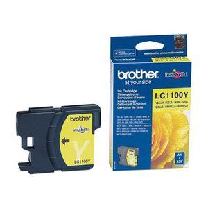 CARTOUCHE IMPRIMANTE Brother LC1100Y - Cartouche d'encre jaune (325 pag