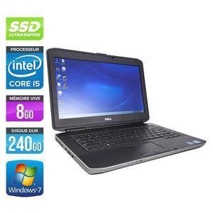 ORDINATEUR PORTABLE  DELL LATITUDE E6320, I5, 8GB, DVD, 256 GO SSD