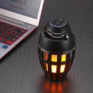 ENCEINTE NOMADE Flamme Lampe de table Haut-parleur Bluetooth