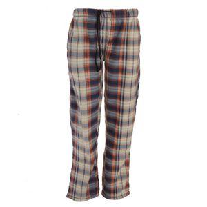 PYJAMA Brave Soul - Pantalon de pyjama en polaire - Homme